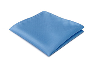 Light blue pocket handkerchief