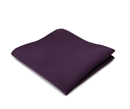 Purple pocket handkerchief