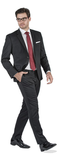 Tailored suit - Basic Black Tailored Suit