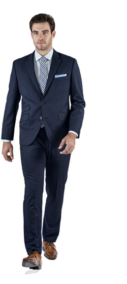 Basic Blue Custom Suit