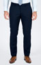 Basic Blue Tailored Suit - Front pants