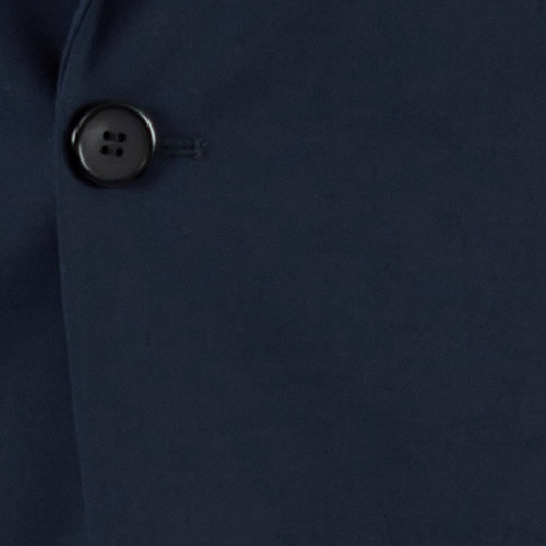 Basic Blue Tailored Suit - Fabric