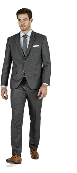 Basic Grey Custom Suit