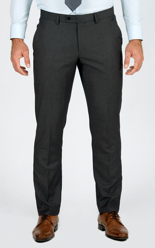 Basic Grey Custom Suit - Front pants