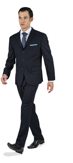 Basic Navy Custom Suit