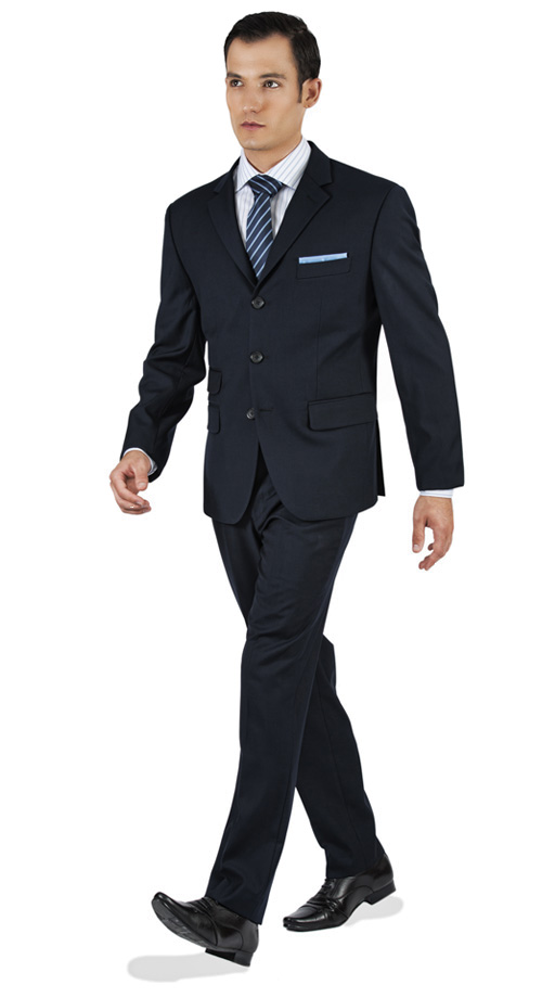 Basic Navy Custom Suit - Entire suit