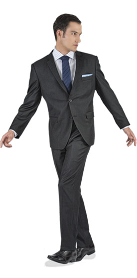 Tailored suit - Charcoal Tailored Suit