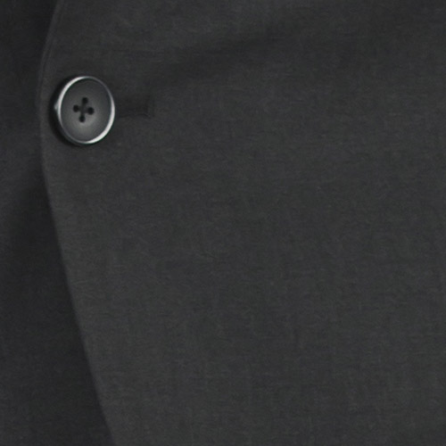 Charcoal Custom Suit - Fabric