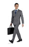 Basic Light Grey Custom Suit - Entire suit
