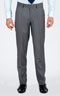 Basic Light Grey Custom Suit - Front pants
