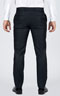 Striped Navy Custom Suit - Back pants