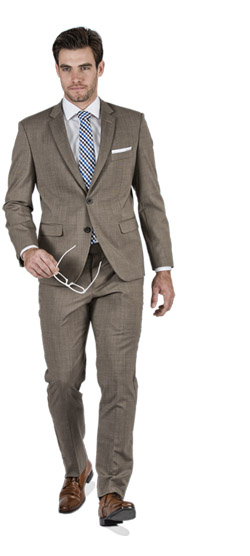 Basic Brown Custom Suit