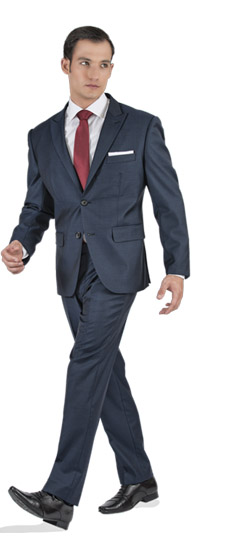 Tailored suit - Premium Blue 2 Piece Tailored Suit