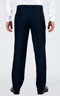 Premium Blue 3 Piece Custom Suit - Back pants