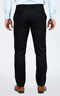 Premium Pinstripe Dark Grey Custom Suit - Back pants
