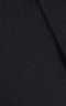 Premium Pinstripe Dark Grey Custom Suit - Fabric