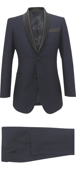 Tailored suit - Tuxedo Suit Dark blue