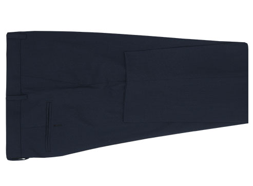 Blue Navy Suit - Back pants