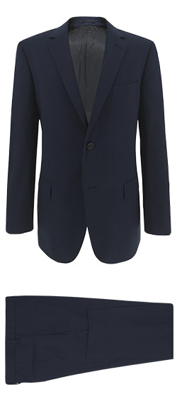 Blue Navy Suit