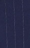 Striped Blue Suit - Inside jacket lining