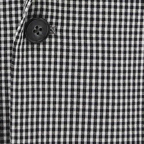 Small Check Suit - Inside jacket lining