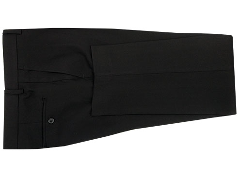 Small Check Suit - Back pants