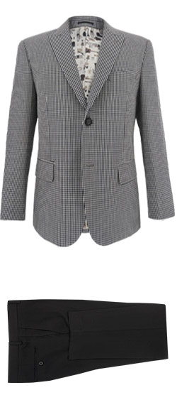 Tailored suit - Small Check Suit