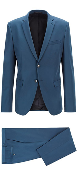 Tailored suit - Blue Jordy Suit