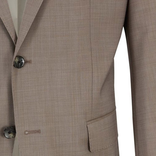 Light brown suit - Inside jacket lining