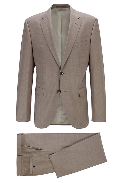 Light brown suit - Entire suit