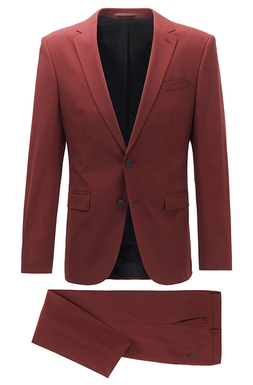 Dark Red Hippie Suit - Entire suit