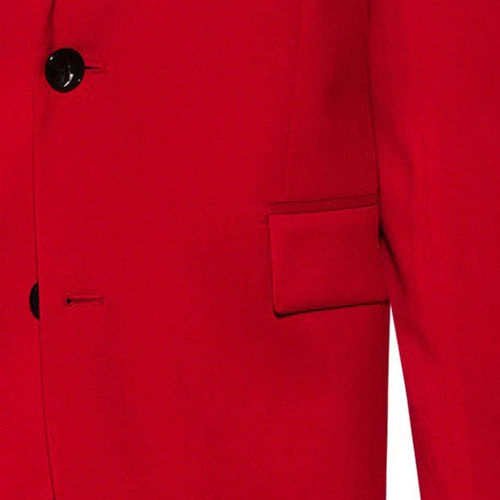 Ferrari Red Suit - Inside jacket lining