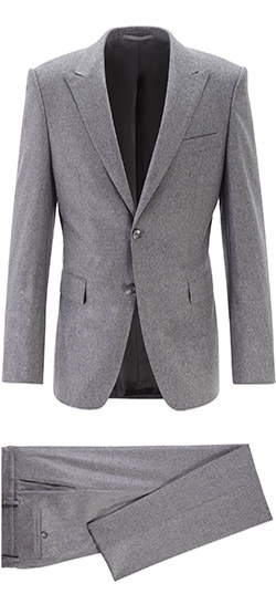 Tailored suit - Light gray suit