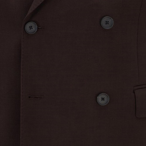 Dark Brown Suit - Inside jacket lining