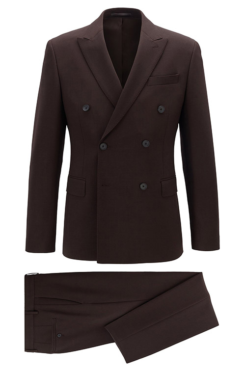 Dark Brown Suit - Entire suit