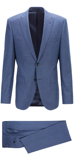 Tailored suit - Blue Yonder Suit