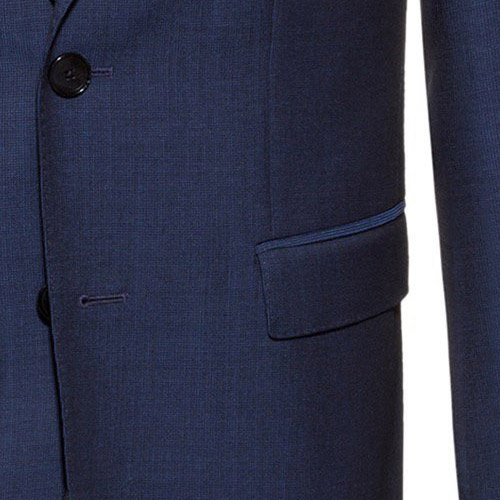 Lucky Blue Suit - Inside jacket lining