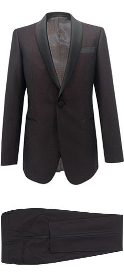 Tailored suit - Garnet Tuxedo Suit