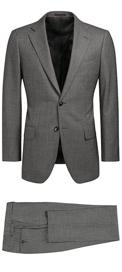 Tailored suit - Gray Partridge Eye Suit