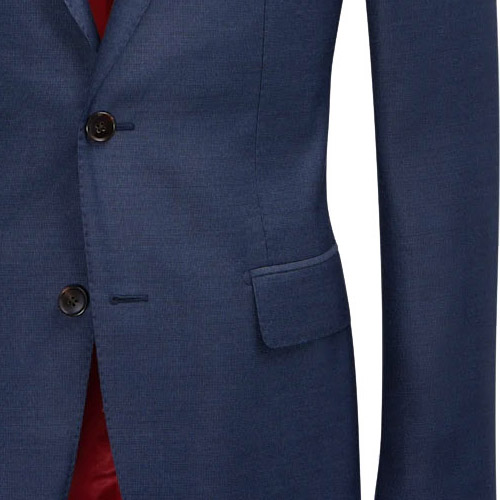 Blue suit East Bay - Inside jacket lining