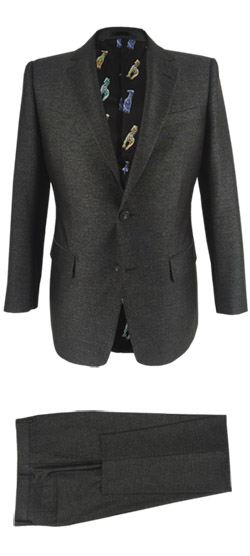 Tailored suit - Dark Gray Slate Suit