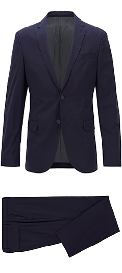 Tailored suit - Elastic Blue Navy Suit