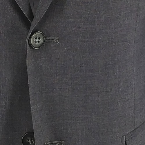 Basic Gray Elastic Suit - Inside jacket lining