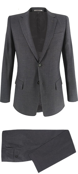 Tailored suit - Basic Gray Elastic Suit