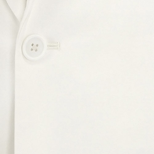 White Linen Suit - Inside jacket lining