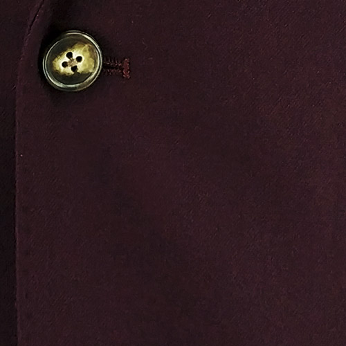 Plain Garnet Suit - Inside jacket lining
