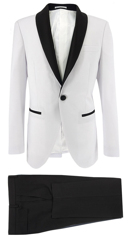 White Tuxedo - Entire suit