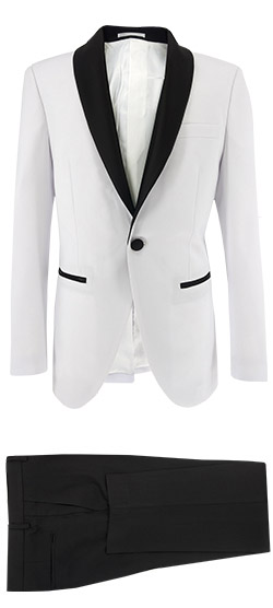 Tailored suit - White Tuxedo